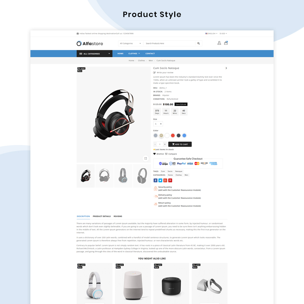 alfa-product-page